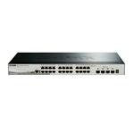 DLink DGS151028X 24 Puertos Gigabite  4 SFP  Switch