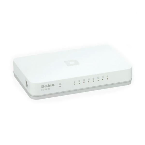 DLink GOSW8G 8 Puertos Gigabit  Switch