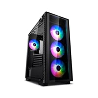 Deepcool Matrexx 50 ADD-RGB 4F negra - Caja