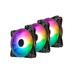 Deepcool CF120 Plus ARGB pack 3  Ventiladores