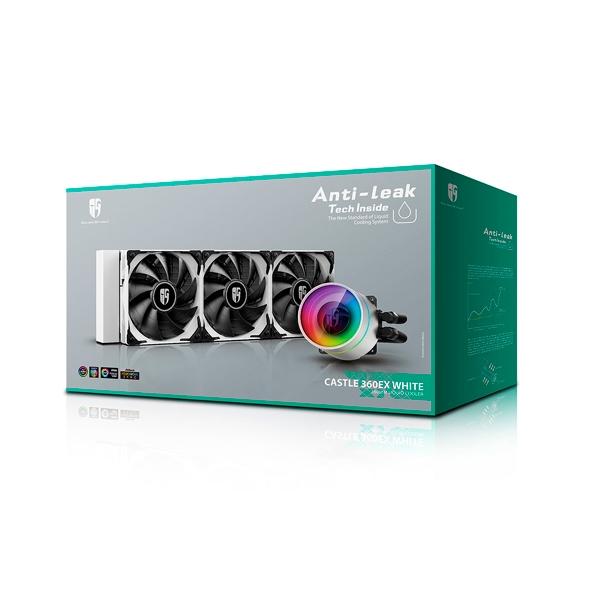 Deepcool Castle 360EX White  Refrigeración Líquida