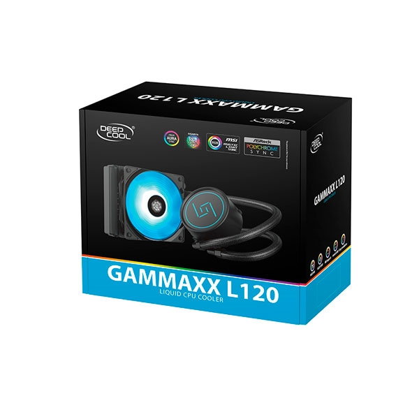 Deepcool Gammaxx L120 RGB  Refrigeración liquida