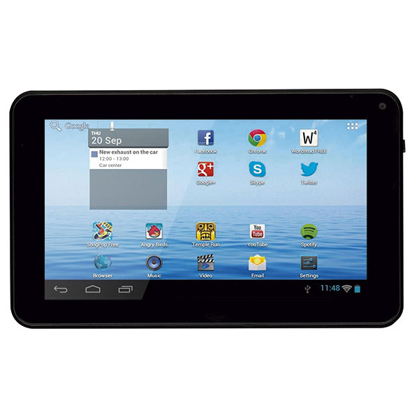 DENVER TAQ-70312 7″ 1024×600 QC 1.2Ghz 1GB 8GB A6 – Tablet
