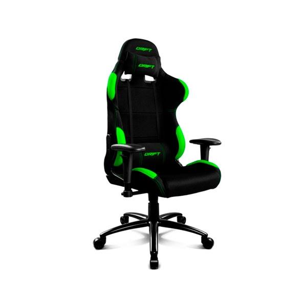Drift Gaming DR100 Negro  Verde  Silla