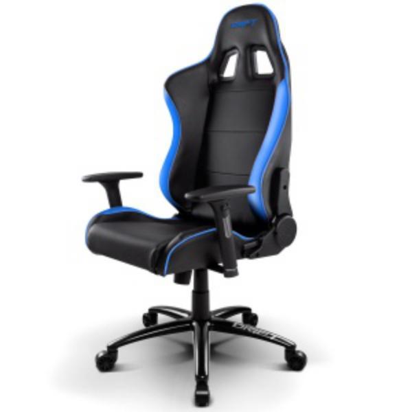Silla Gaming Drift DR200 Negro y Azul – Silla