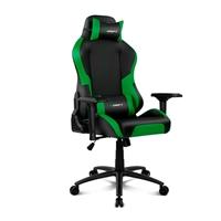 Drift Gaming DR250 negra  verde  Silla