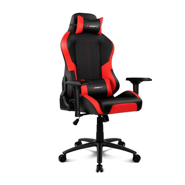 Drift Gaming DR250 negra  roja  Silla