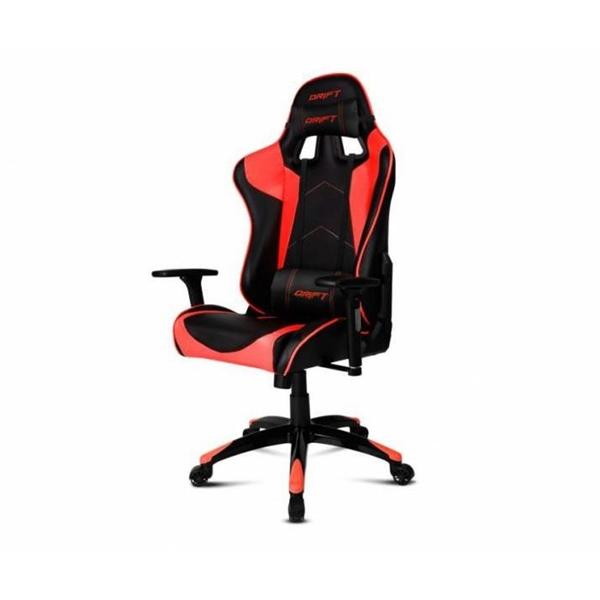 Silla Gaming Drift DR300 Negro y Rojo – Silla