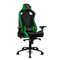 Drift Gaming DR500 negra  verde  Silla