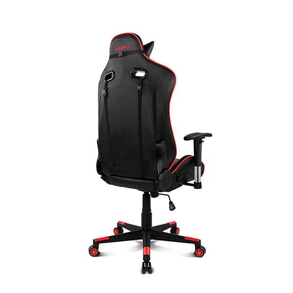 Drift Gaming DR85 negra  roja  Silla