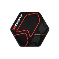 Drift Floorpad negro / rojo - Accesorio para sillas