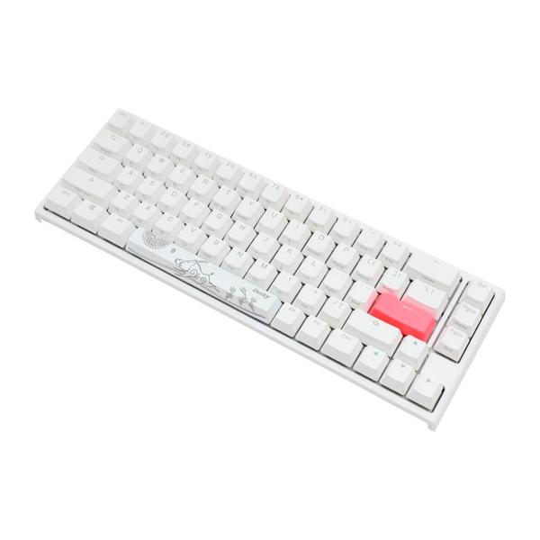 Ducky One 2 SF White RGB MX Brown Layout ES  Teclado