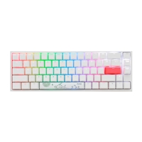 Ducky One 2 SF White RGB MX Red Layout ES - Teclado