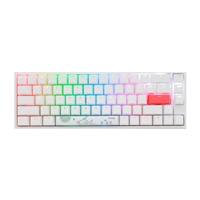 Ducky One 2 SF White RGB MX Red Layout ES  Teclado