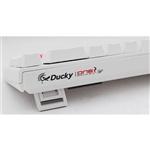 Ducky One 2 SF White RGB MX Red Layout ES - Teclado