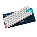 Ducky One 2 Mini Pure White RGB MX Brown Layout ES - Teclado