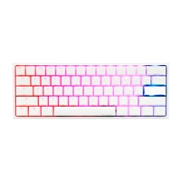 Ducky One 2 Mini Pure White RGB MX Blue Layout ES - Teclado