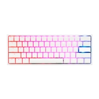 Ducky One 2 Mini Pure White RGB MX Red Layout ES   Teclado