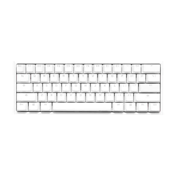 Ducky One 2 Mini Pure White RGB MX Red Layout ES   Teclado