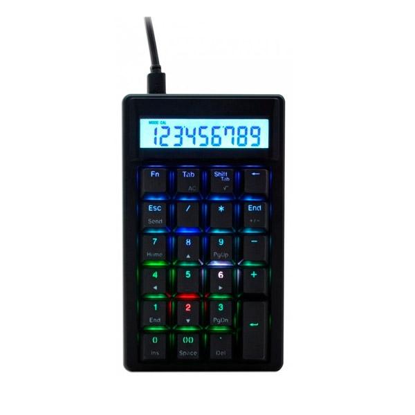 Ducky Pocket PBT MX Blue RGB - Teclado numérico
