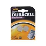 Duracell Pila Botn Litio CR2032 3V 2 unidades