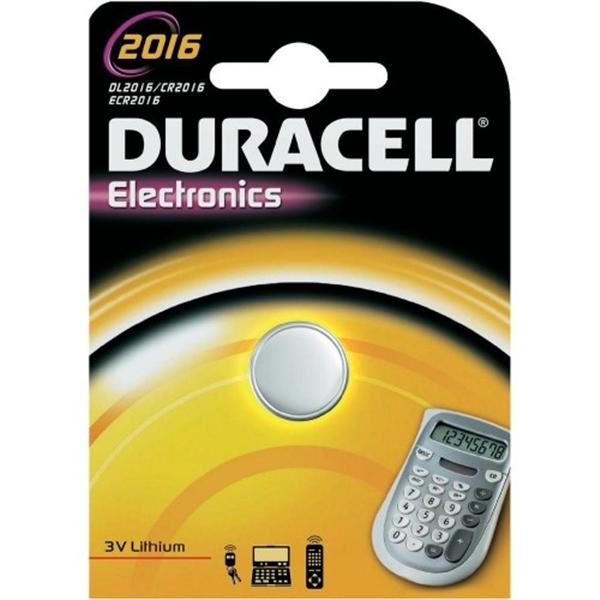 Duracell Pila Botón Litio CR2016 3V 1 unidad