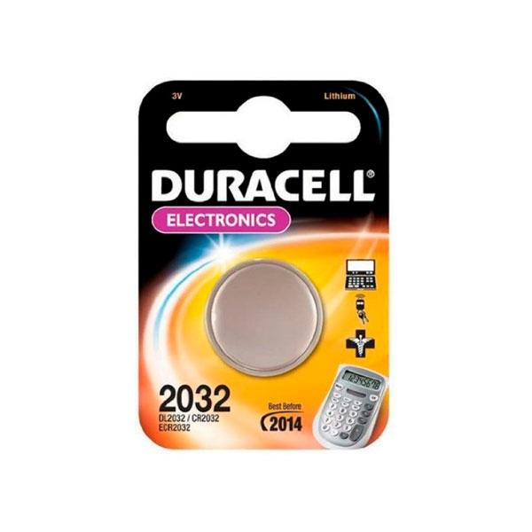 Duracell Pila Botón Litio CR2032 3V en Blister  1 unidad