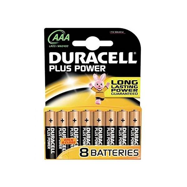 Duracell Pilas Alcalinas Plus Power AAA 1.5V 8 unidades