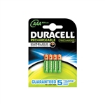 Duracell Pilas Recargables Recharge Ultra AAA 850mAh 4 uds