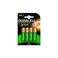 Duracell Pilas Recargables Recharge Plus AAA 750mAh 4 uds.