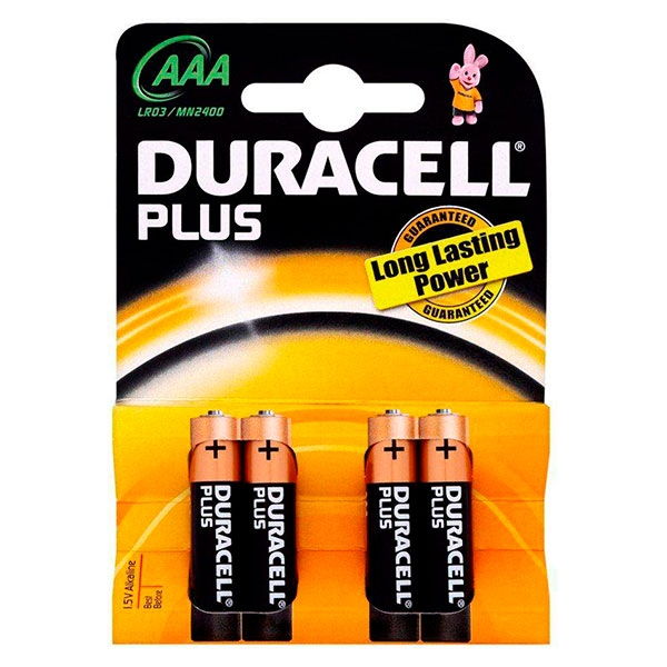 Duracell Pilas Alcalinas Plus Power AAA 15V 12 unidades