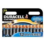 Duracell Pilas Alcalinas Ultra Power AA 15V 12 unidades