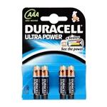 Duracell Pilas Alcalinas Ultra Power AAA 15V 4 unidades