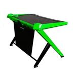 DXRacer GD/1000/NE negro / verde - Mesa gaming