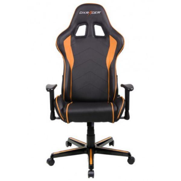 DXRACER F-Series OH/FL08/NO negra – naranja – Silla