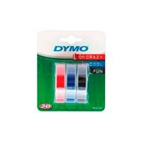 Dymo cinta en relieve autoadhesiva 3D x 3  Consumible