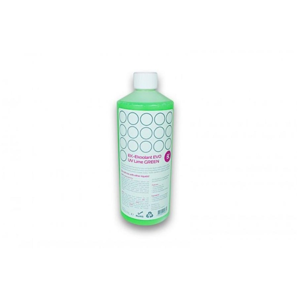 EKWB EK-Ekoolant EVO UV Green 1L premix – Líquido