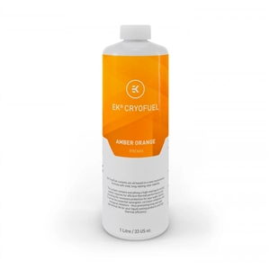 EKWB EKCryoFuel Premezclado Amber Orange 1000ml  Líquido