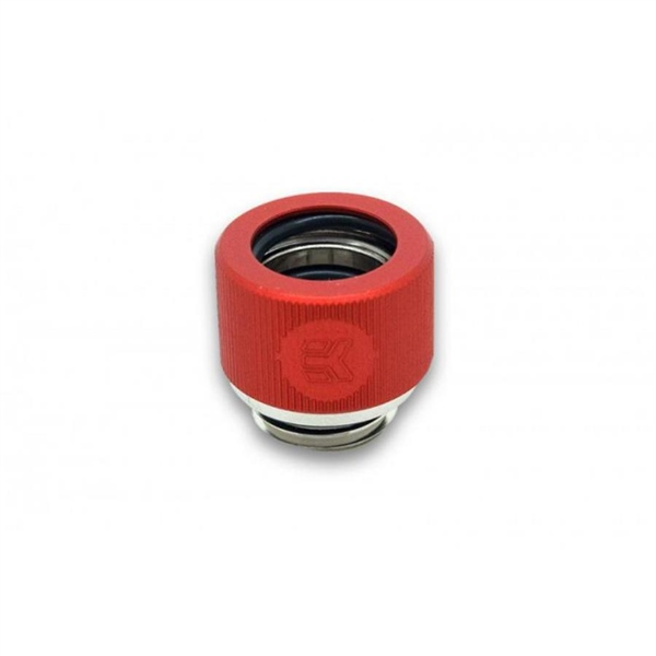 EKWB EK-HDC Fitting 12mm G1/4 Rojo – Racor