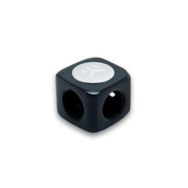 EKWB EKAF T 3x G14 F negro  Splitter