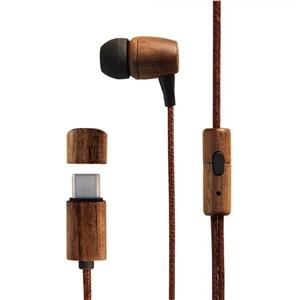 Energy Sistem Earphones Eco Walnut Wood  Auriculares