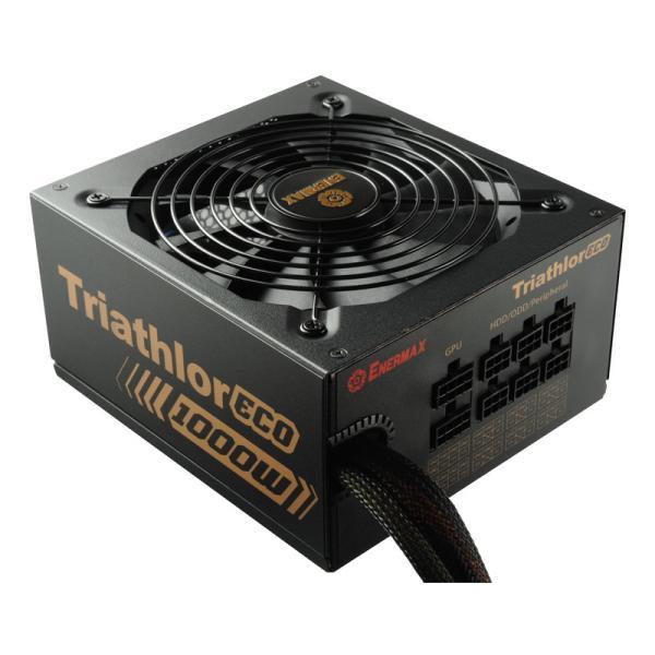 Enermax Triathlor Eco ETL1000EWT-M 80+ Bronze 1000W – Fuente