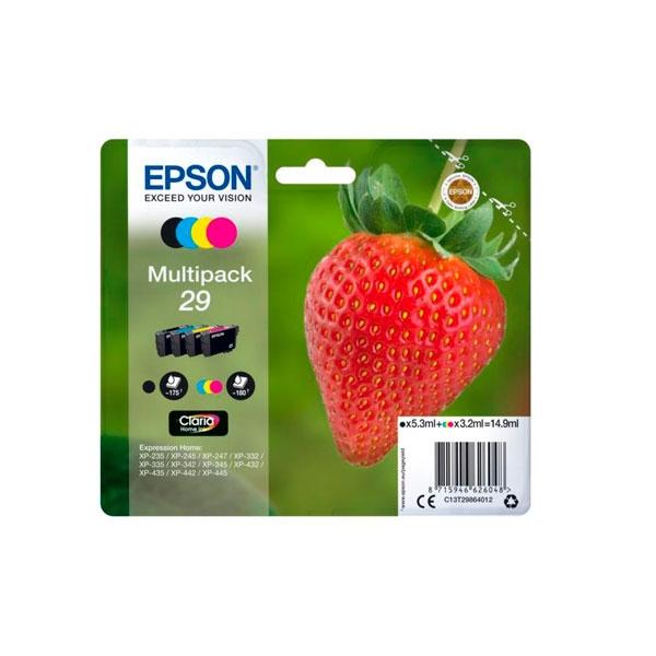 Epson Multipack 29 14.9Ml 4 Colores - Cartucho de Tinta