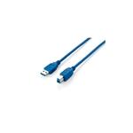 Equip USB 30 AMacho a BMacho 3M  Cable datos