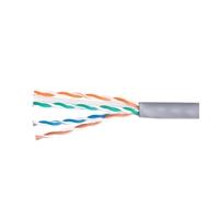 Equip bobina cable 100M Cat6 U/UTP Rígido LSZH - Cable red