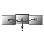 EQUIP para 3 Monitores hasta 27 pinza para mesa  Soporte
