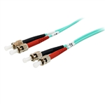 Equip Fibra Óptica multimodo OM3 Dúplex ST-ST 2m - Cable