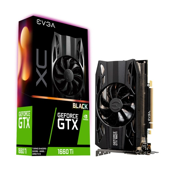 EVGA GeForce GTX 1660 TI XC Black 6GB GDDR6 - Gráfica