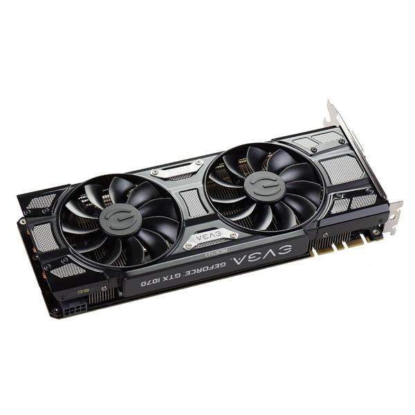 EVGA Nvidia GeForce GTX1070 8GB SC Gaming ACX Black  VGA