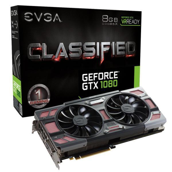 EVGA Geforce GTX 1080 Classified Gaming ACX30 8GB  Gráfica